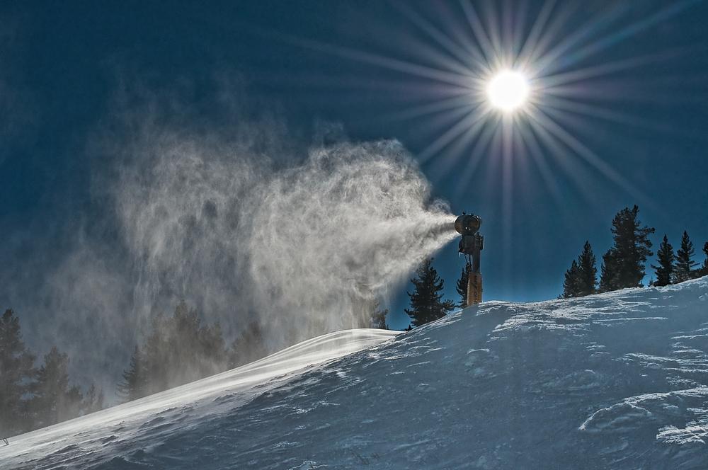 Making Snow by ROBERT CLARIDGE