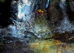 Makro-Wasser-Spielerei!  BEARBEITET - Le mini-monde dans un petit ruisseau!