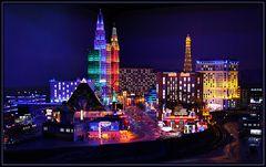 Mal eben von Hamburg nach Las Vegas gejettet ... ;-)