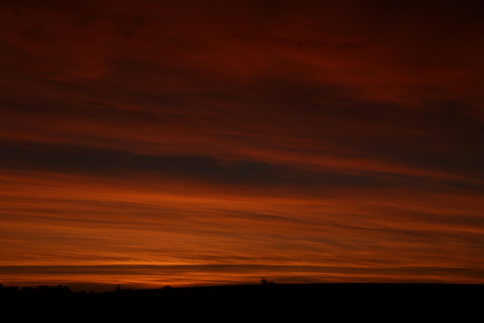Mal ein Sonnenaufgang ....