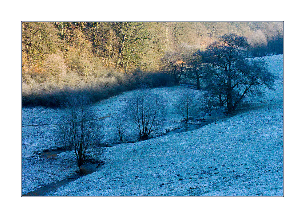 ...mal warm... ...mal kalt...: Schlängelkurs des Winters...
