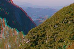 Mal was von oben... Berge in 3D