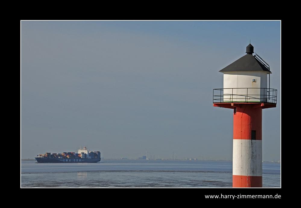Mal wieder an der Elbe