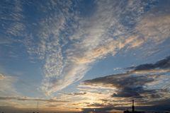 Mal wieder ein schöner Sonnenuntergang ......