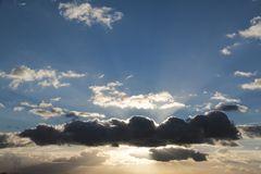 Mal wieder ein schöner Sonnenuntergang ...