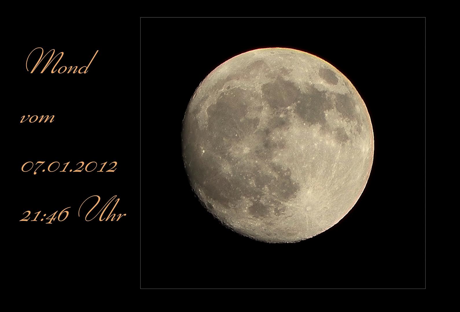 Mal wieder einen Mond