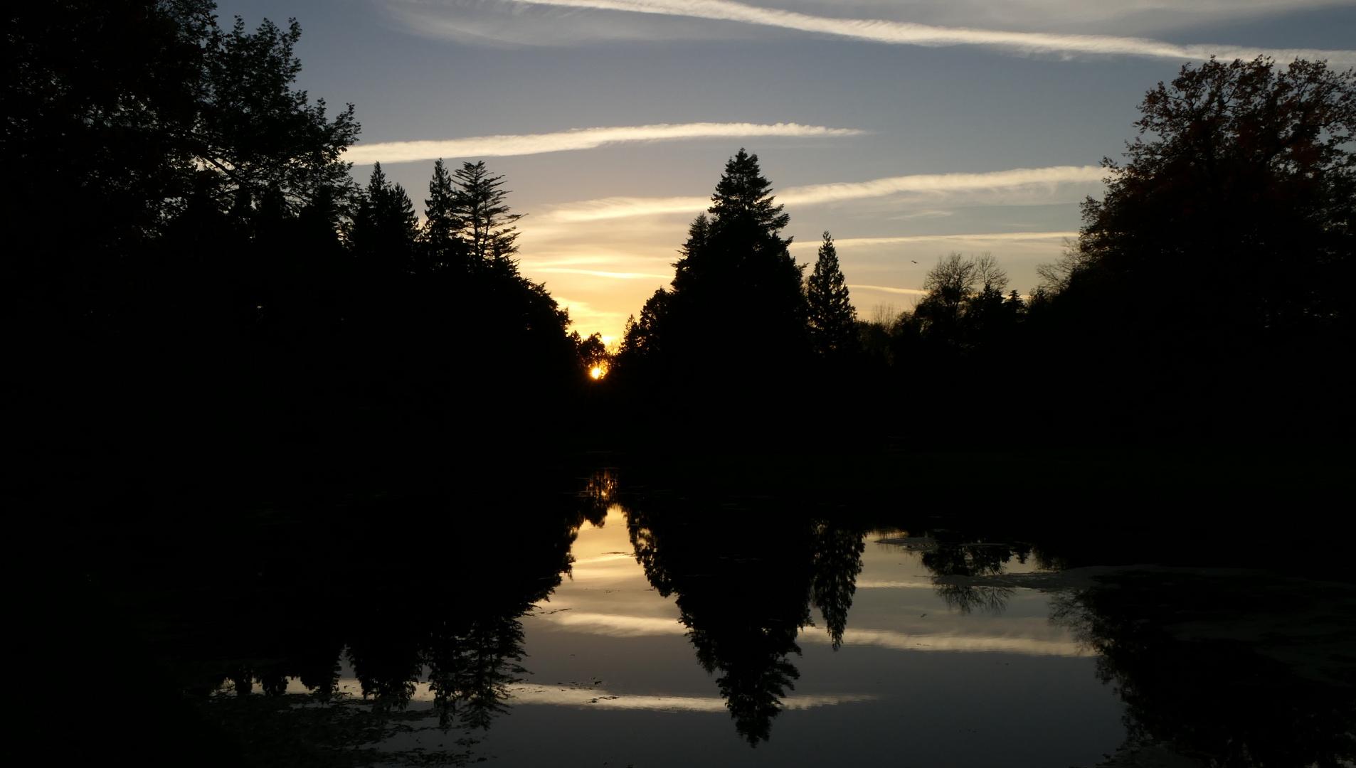 Mal wieder Sonnenuntergang^^