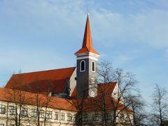 Malacky - Klosterbau mit Kirche
