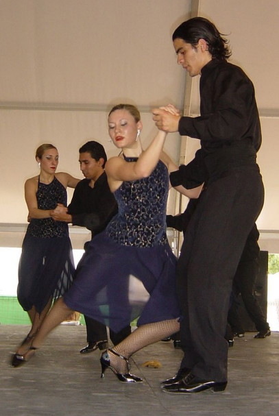 Malaga 2007 - Tangotänzer