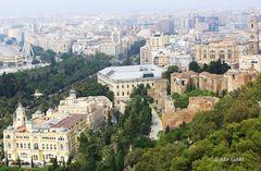 Malaga in der Übersicht