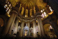 Malaga . Kathedrale