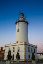Malaga, Leuchtturm am Hafen, die dritte