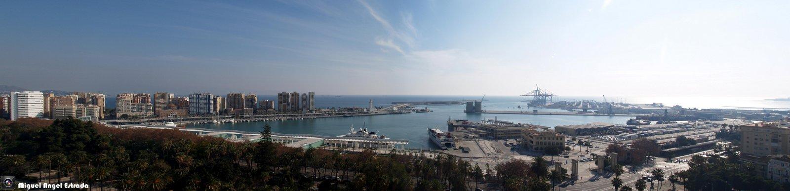 Malaga y Su puerto