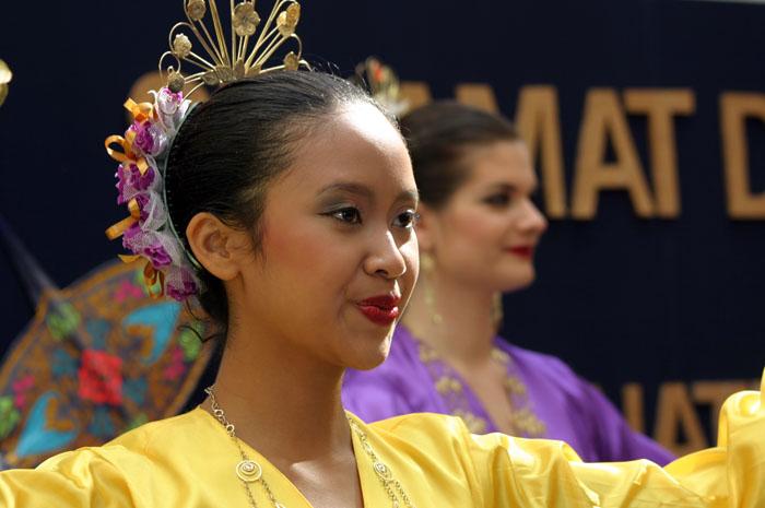 Malayische Schönheit