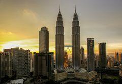 Malaysias Sonnentürme
