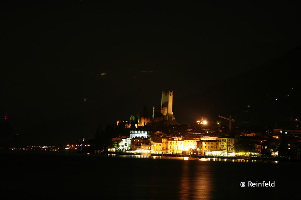 Malcesine by Night