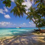 Malediven - Strand auf Fihalhohi