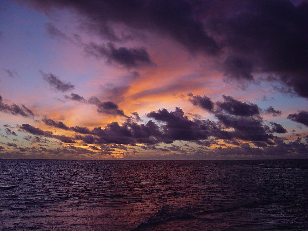 Maledivenhimmel