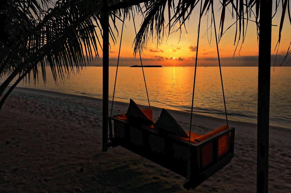 Maledivische November Grüße