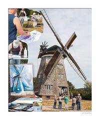 Male,male eine Mühle