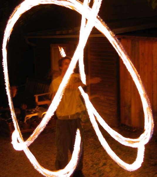 Malen mit Feuer