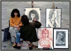 Malen und malen lassen...