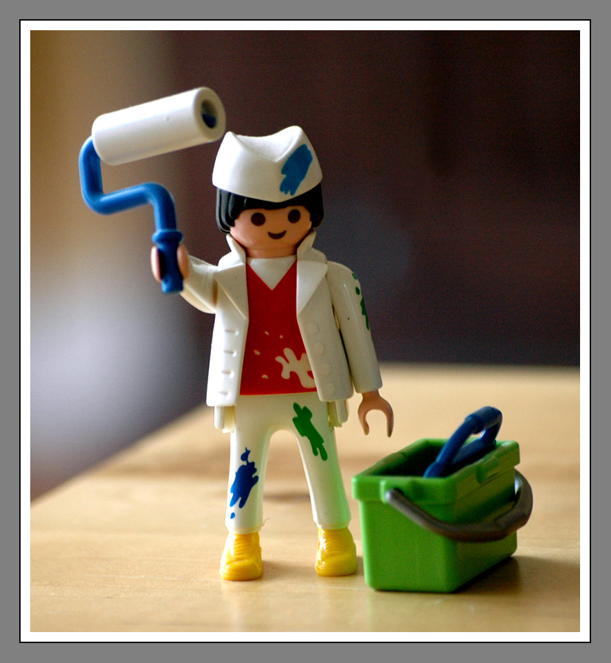Maler bei der arbeit  Maler bei der Arbeit!! Foto & Bild | test Bilder auf fotocommunity