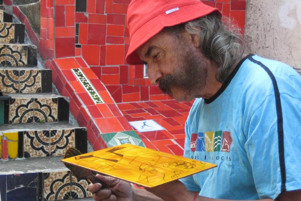 Maler in Rio de Janeiro