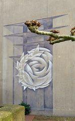 Malerei an der Wallfahrtskirche Neviges