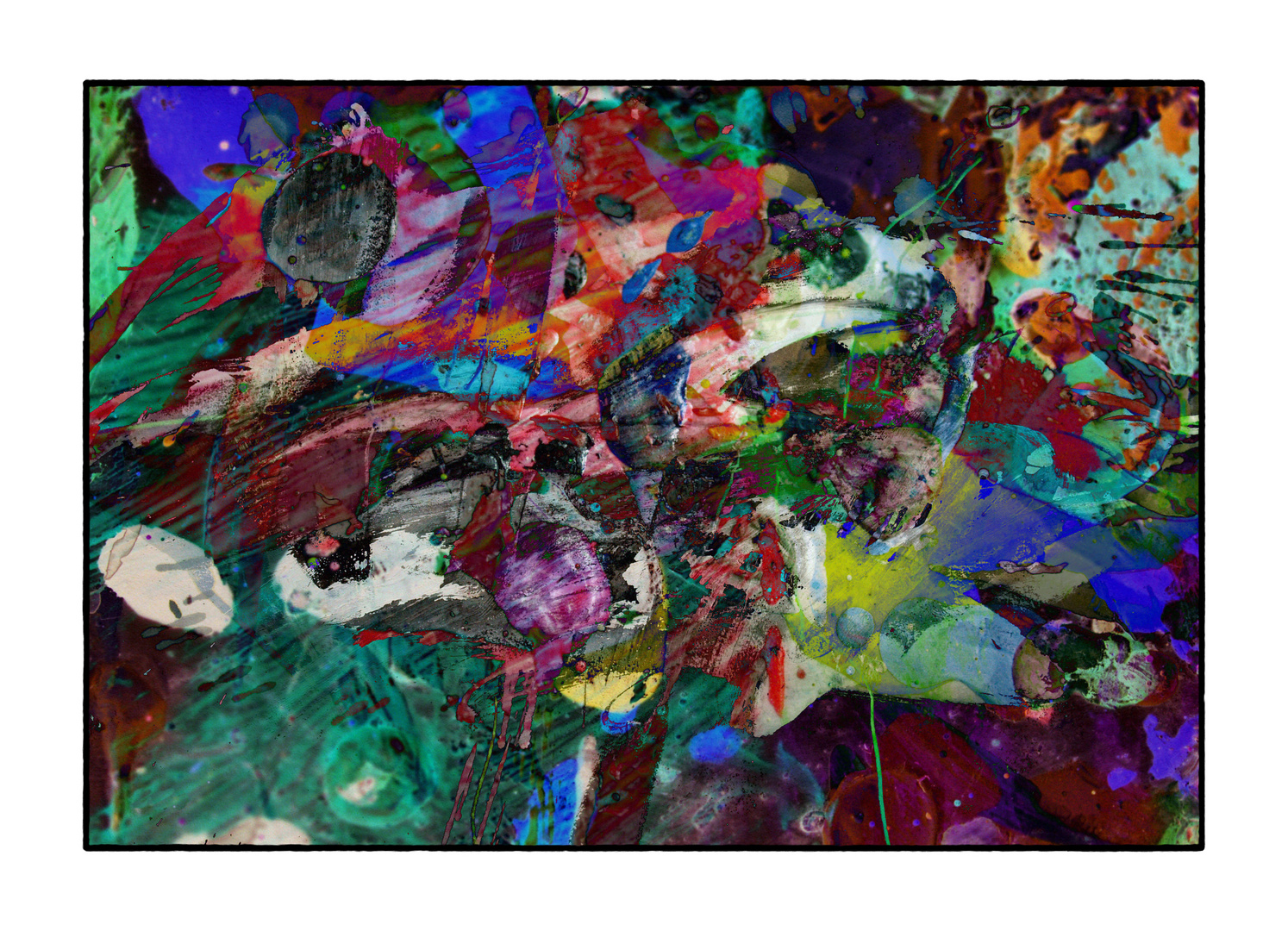 Malerei-Foto-Mix N004