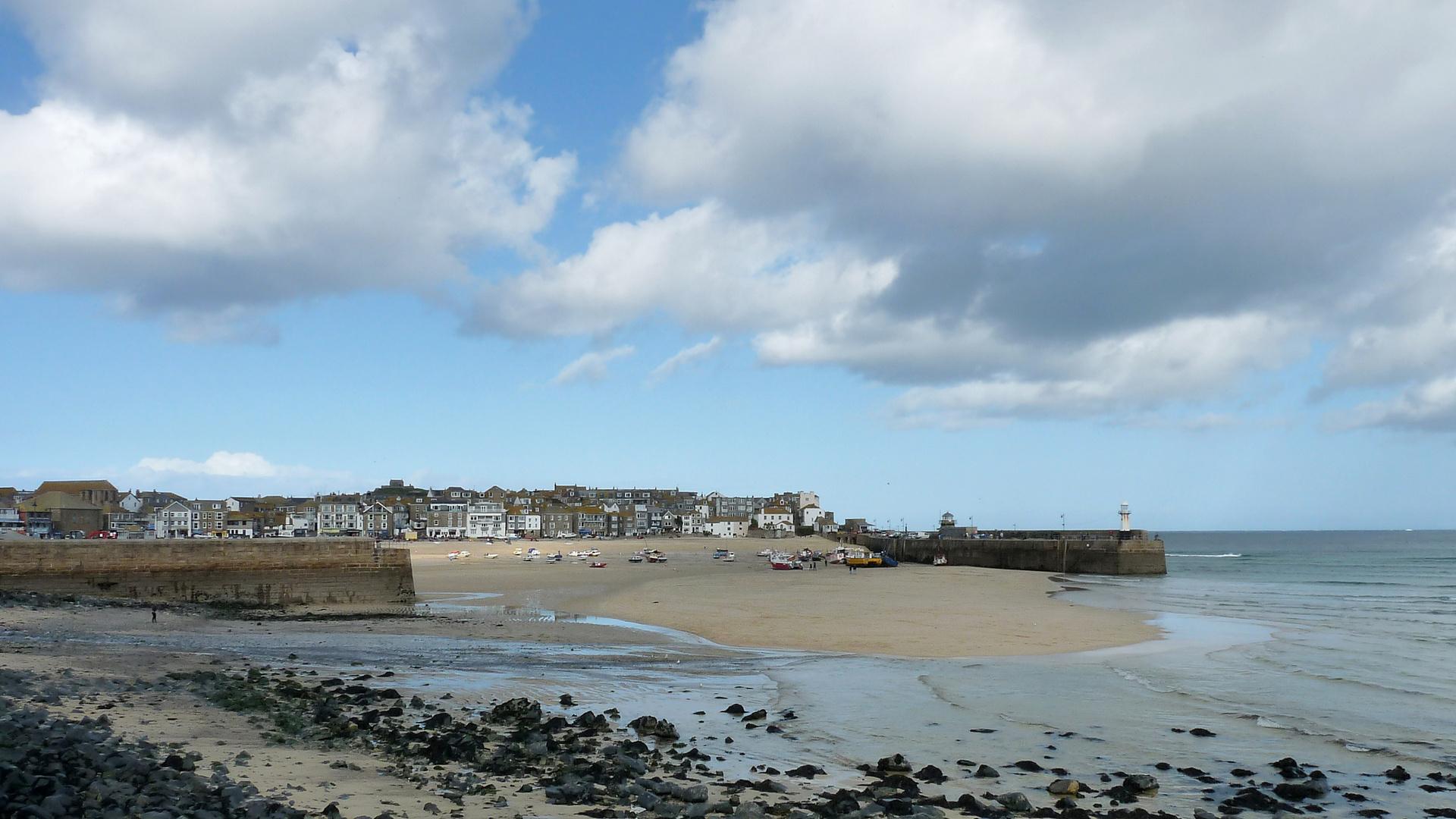 Malerische Orte in Cornwall