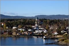 ... malerischer Oslofjord ...