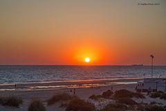 Malerischer Sonnenuntergang auf Novo Sancti Petri