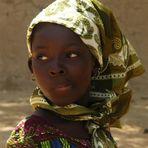 Mali - Bimba al mercato di Djenne'