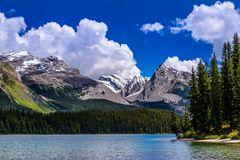 Maligne Lake, Jasper National Park, Kanada