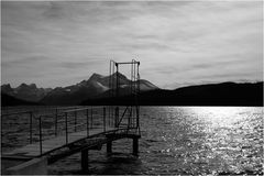 Maligne Lake - off season