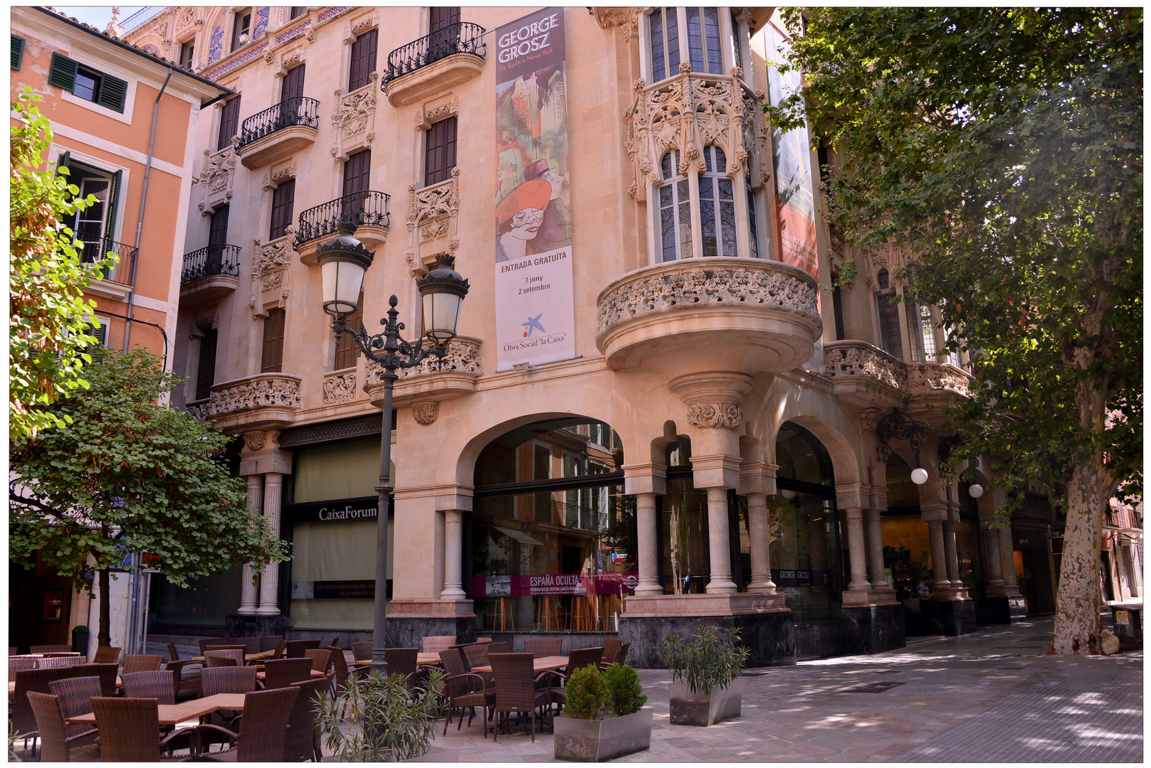 Mallorca 2012, Palma, muy bonito edificio