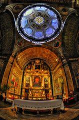 Mallorca - Basilika des Klosters LLuc
