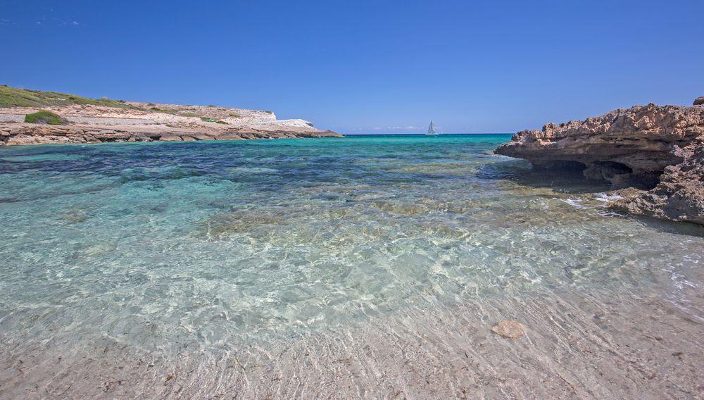 Mallorca - hat auch wunderschöne, einsame Strände
