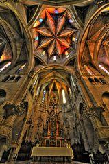 Mallorca - Kirche in Manacor .