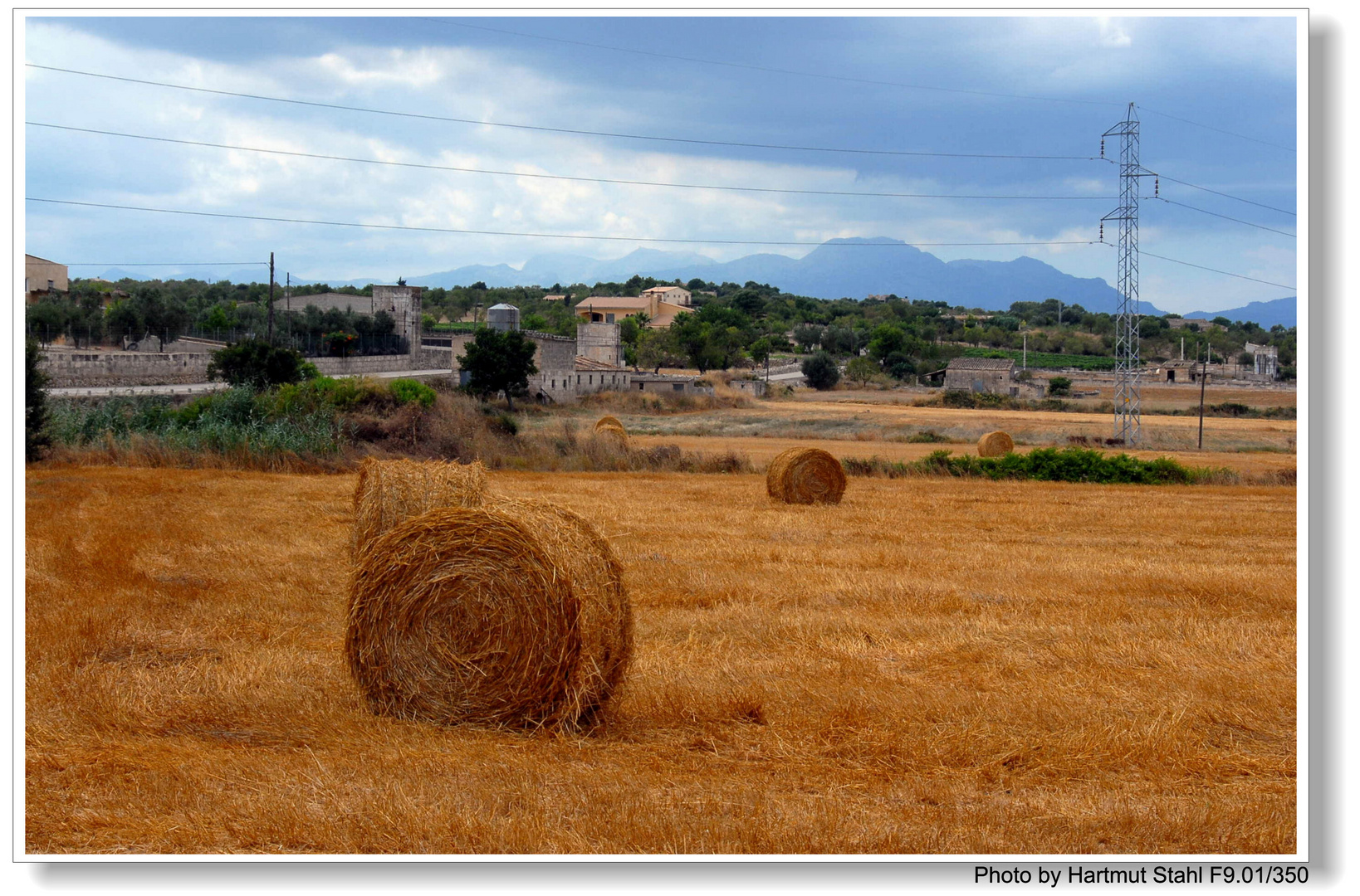 Mallorca, Landschaft bei Santa Margalida (paisaje alrededor de Santa Margalida)
