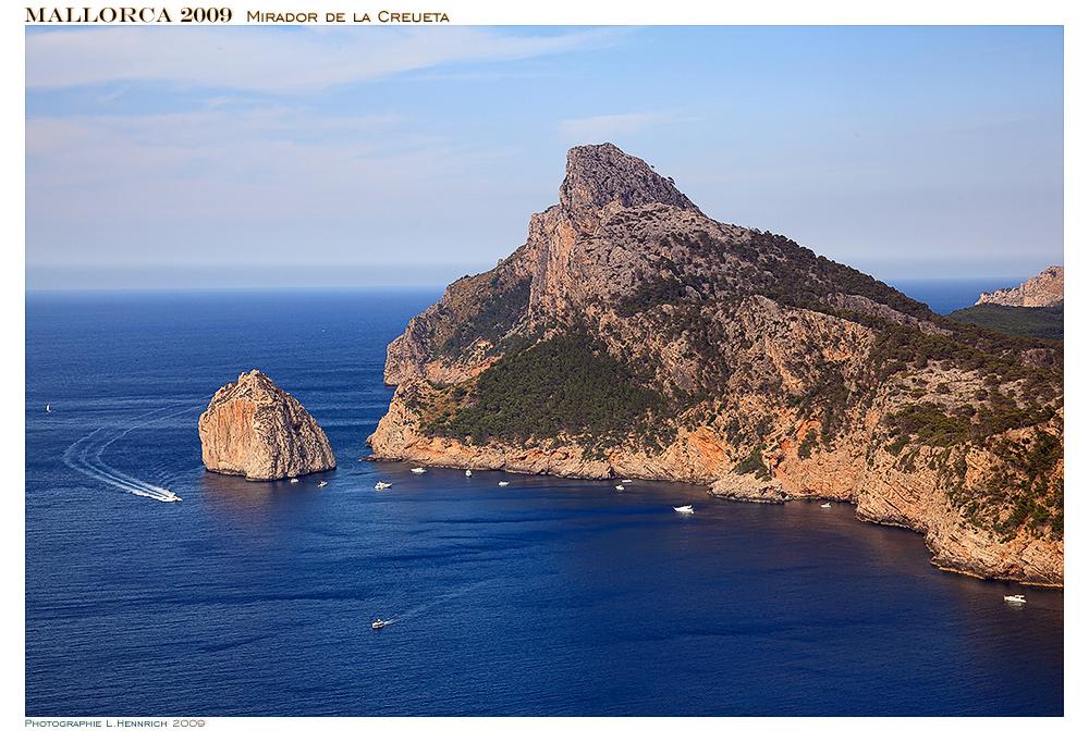 Mallorca - Mirador de la creueta