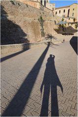 Mallorca - Nr.14 - Schattenspiele am Fuße der Kathedrale La Seu