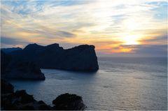 Mallorca - Nr.5 - Sonnenuntergang Formentor