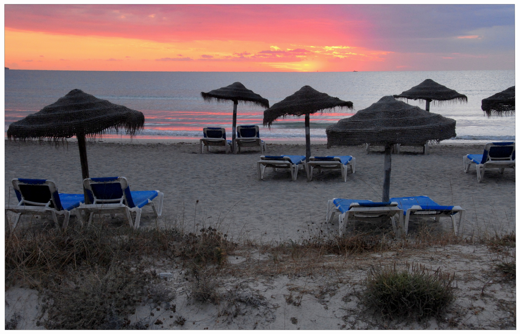 Mallorca, Playa de Muro, salida de sol (Sonnenaufgang)