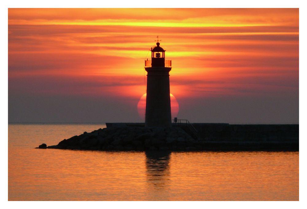 Mallorca - Sonnenuntergang in Puerto Andratx