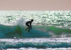 Mallorca surfing