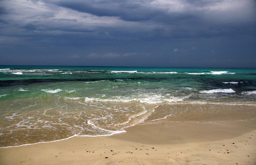 Mallorca -Unwetter zieht auf-