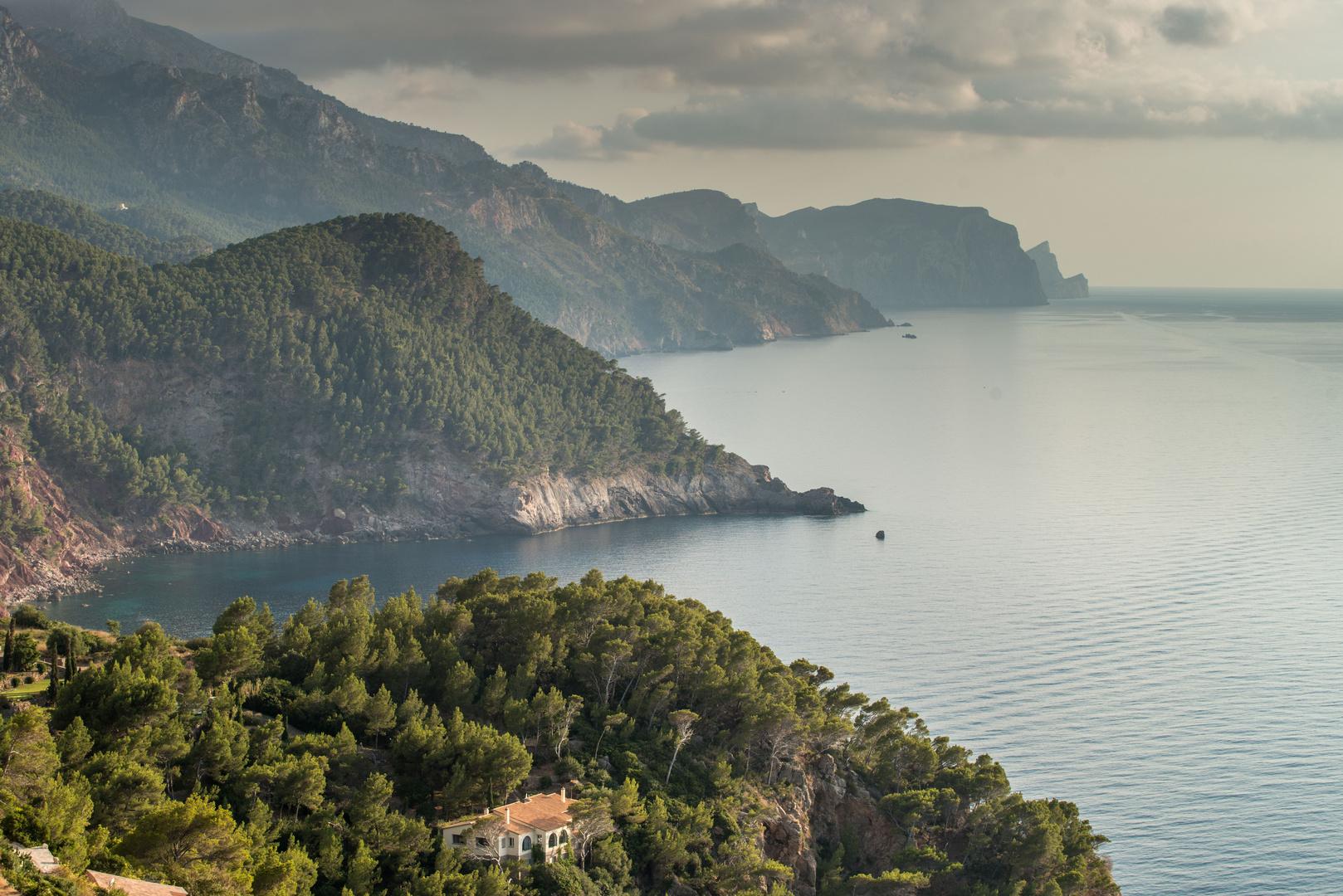 Mallorca Westküste - Estellencs  Banyalbufar