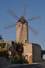 Mallorca - Windmühle .